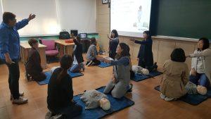 성동광진교육지원청, 광진구 주민 104명 대상 심폐소생술 실습교육 진행